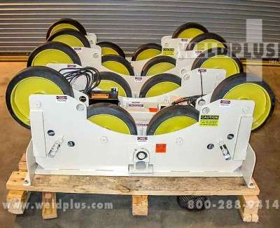 15000 lb Pandjiris Tanker Turning Rolls