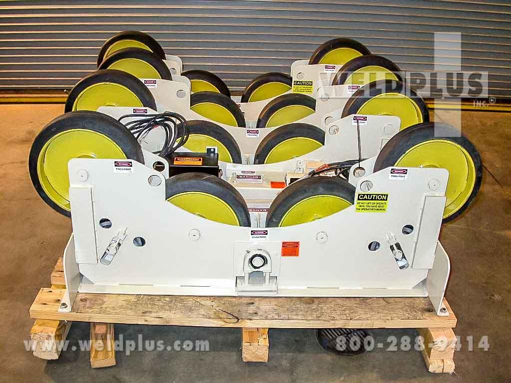 15,000 lb. Pandjiris Tanker Turning Rolls