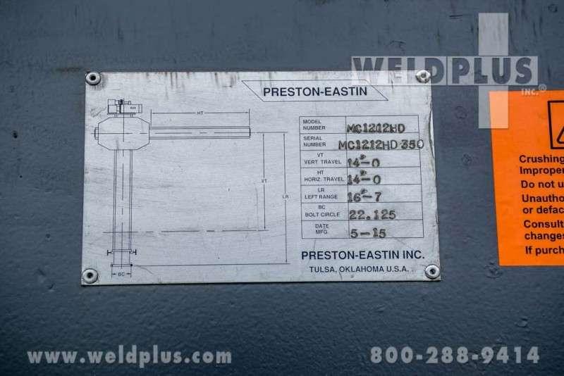 14 x 14 ft Preston-Eastin Manipulator