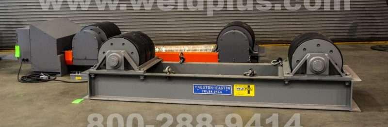 120 Ton Preston-Eastin Tank Turning Rolls