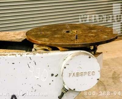 Fab Spec 500 lb Robot Index Turntable