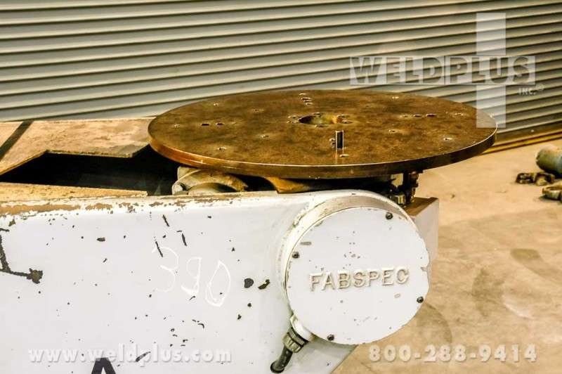 Fab Spec 500 lb. Robot Index Turntable