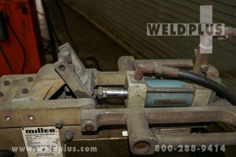 Used Miller 10 KVA Spot Welder | Weld Plus Incorporated