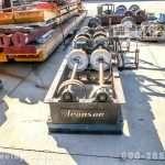 5,000 lb. Aronson Steel Wheel Turning Rolls