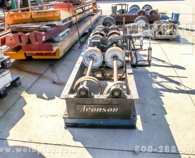 5000lb Aronson Steel Wheel Turning Rolls