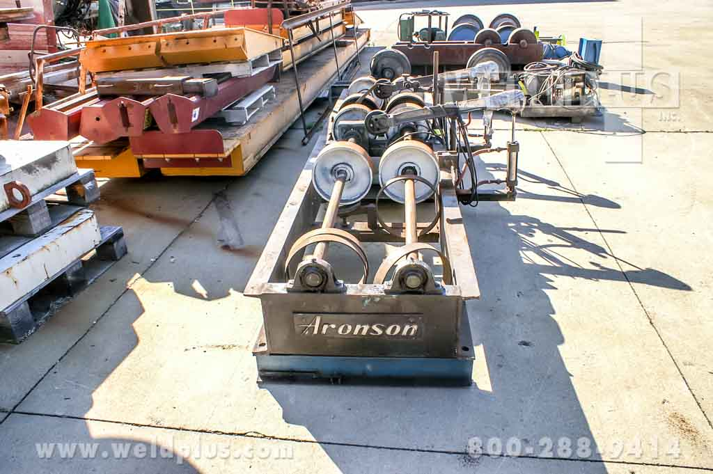 5,000 lb. Aronson Steel Wheel Turning Rolls