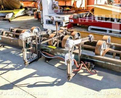 5000lb Aronson Steel Wheel Turning Rolls