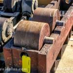 10 Ton Riley Steel Wheel Idler Roll