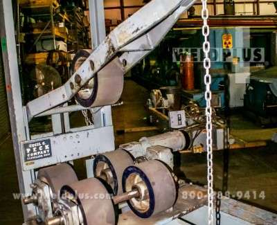 5000 lb Offset Pipe Turning Rolls