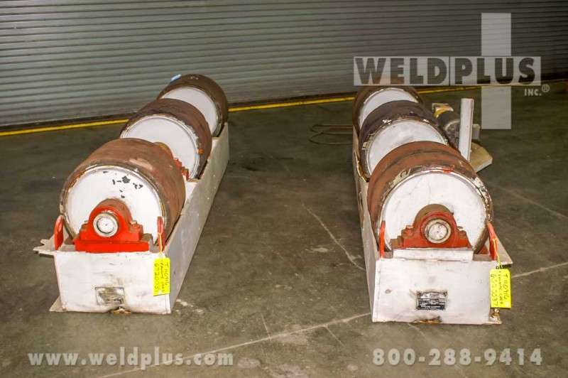 60 Ton Ransome Fit-Up Turning Rolls
