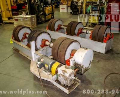 60 Ton Ransome Fit Up Turning Rolls