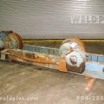 60 Ton Turning Roll Steel Wheel Drive