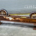 5,000 lb. Worthington Used Turning Roll Idler