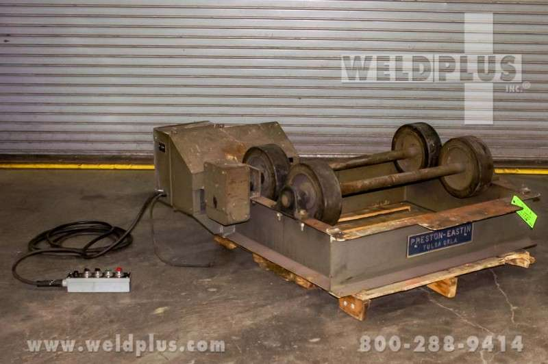 Preston-Eastin 5,000 lb. Turning Rolls