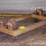 5,000 lb. Unit Frame Idler Turning Rolls