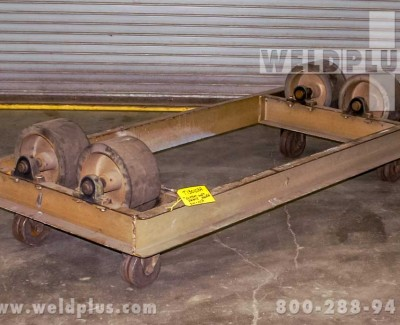 5000 lb Unit Frame Idler Turning Rolls