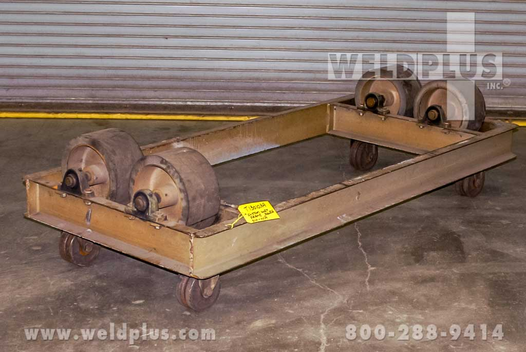 5,000 lb. Unit Frame Idler Turning Rolls
