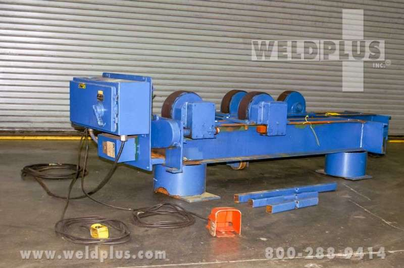 10 Ton Aronson Used Turning Rolls