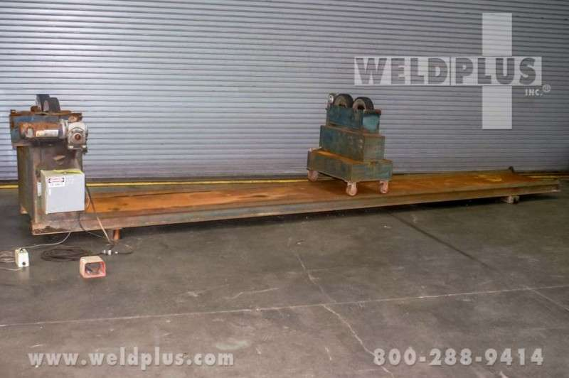 4,000 lb. Custom Welding Turning Rolls