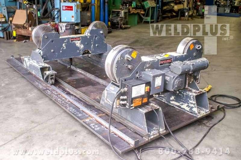 10 Ton Missouri Mule Steel Wheel Turning Rolls
