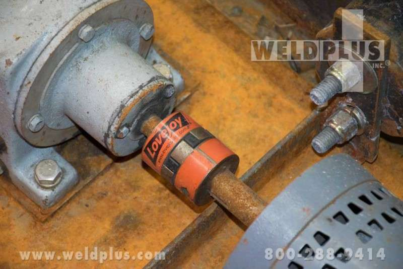 Northwest 10,000 lb. Tank Fit up Rolls