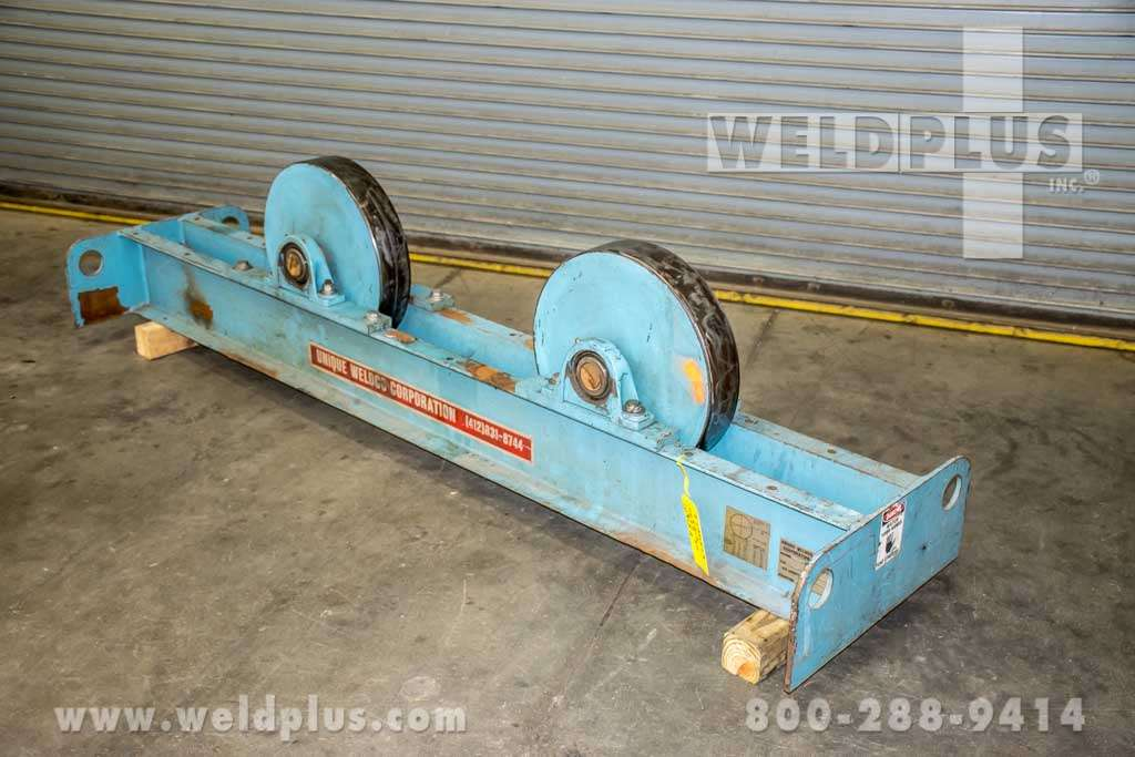 60,000 lb. Steel Wheel Turning Roll Idlers