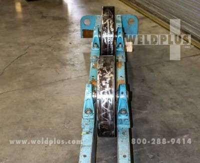 60000 lb Steel Wheel Turning Roll Idlers