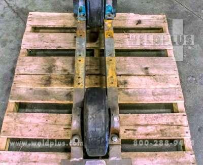 5000 lb Aronson Turning Roll Idler