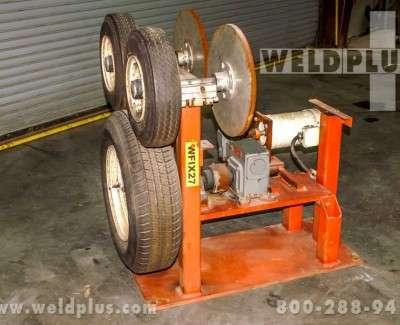 3000 lb Rebuilt Pipe Turning Rolls