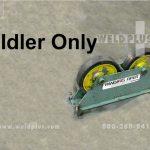 2,000 lb. Used Pandjiris Piper 3 Idler Only