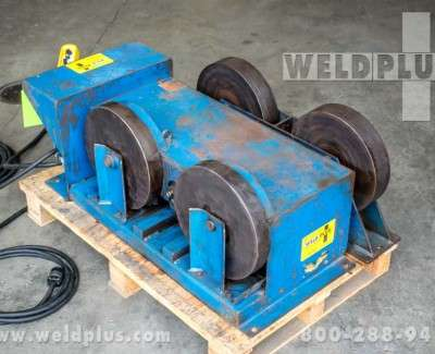 10000 lb Steel Wheel Turning Rolls
