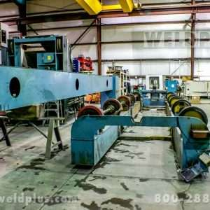34 Ton Pandjiris Unit Frame Turning Rolls