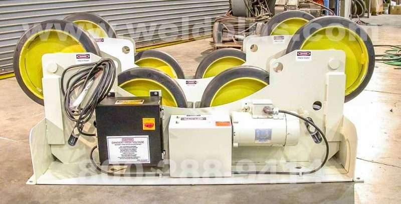 15000 lb. Pandjiris Tanker Turning Rolls