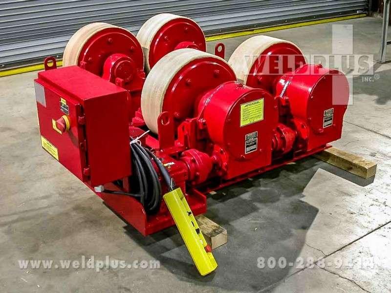 100 Ton Ransome Turbine Rotor Turning Rolls