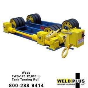 Webb S123 12,000 lb. Turning Rolls
