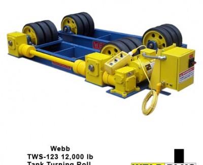 Webb S123 12000 lb Turning Rolls