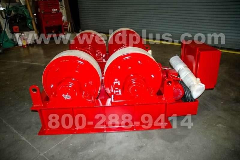50 Ton Ransome Turbine Rotor Turn Rolls