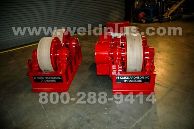 75 Ton Ransome Turbine Turning Rolls
