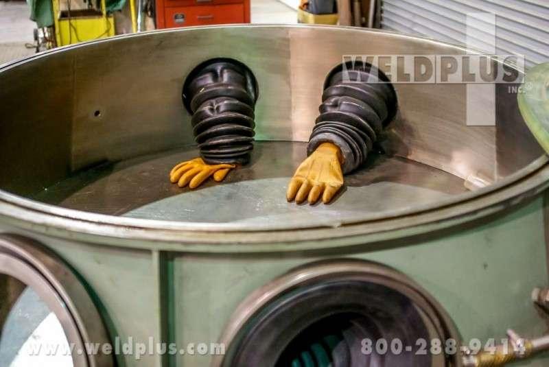 VC48 Airline Vacuum Inert Welding Chamber