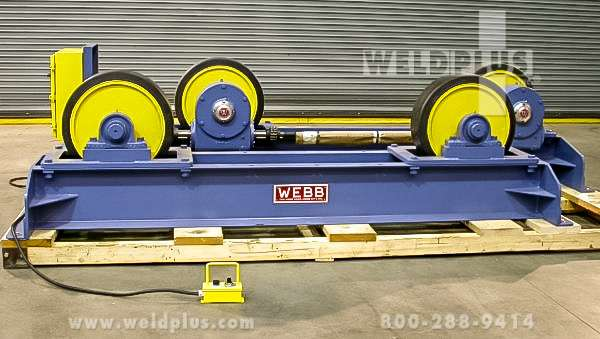 M-500 40,000 lb. Webb Turning Rolls