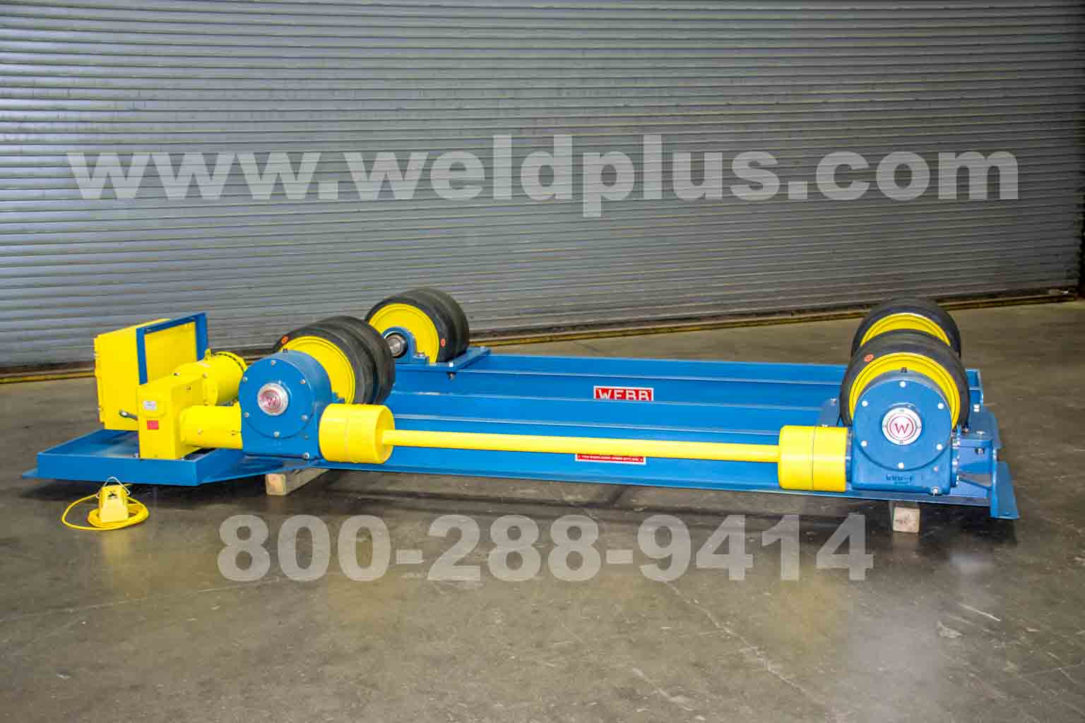 R-1000 40 Ton Webb Turning Rolls