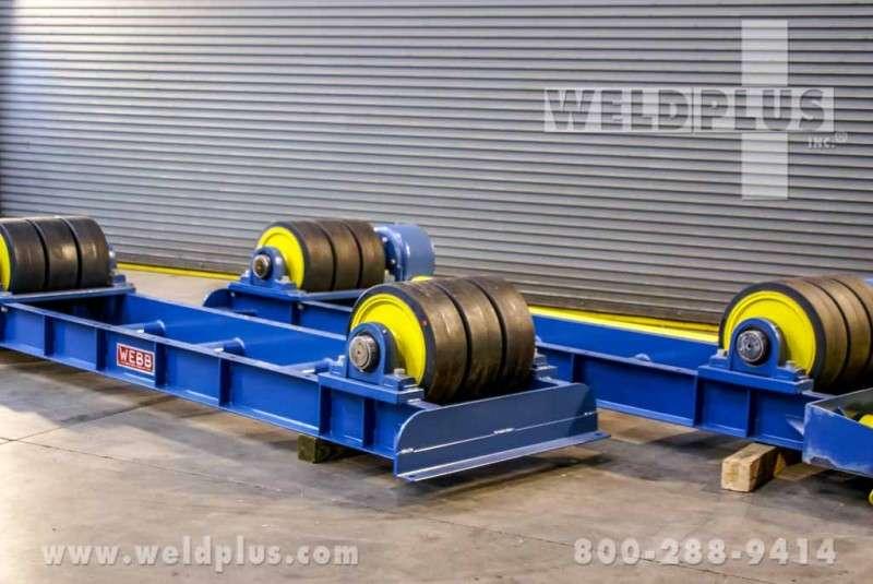 75 Ton Webb Turning Rolls
