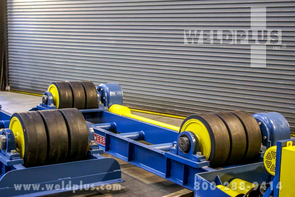 75 Ton Webb Turning Rolls