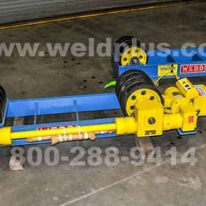 Model S124 12,000 lb. Webb Turning Rolls