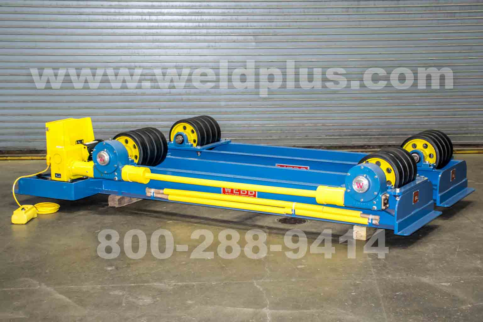 Webb T-30 10 Ton Turning Rolls