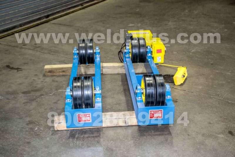 Webb T-6 6,000 lb. Turning Rolls