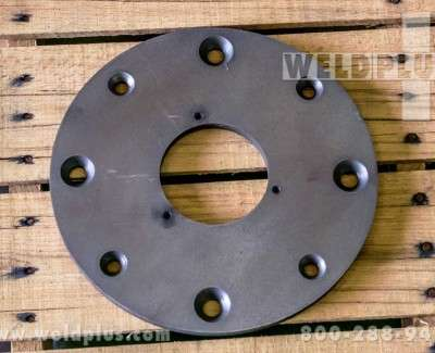 Small Welding Chuck Adapter Plate