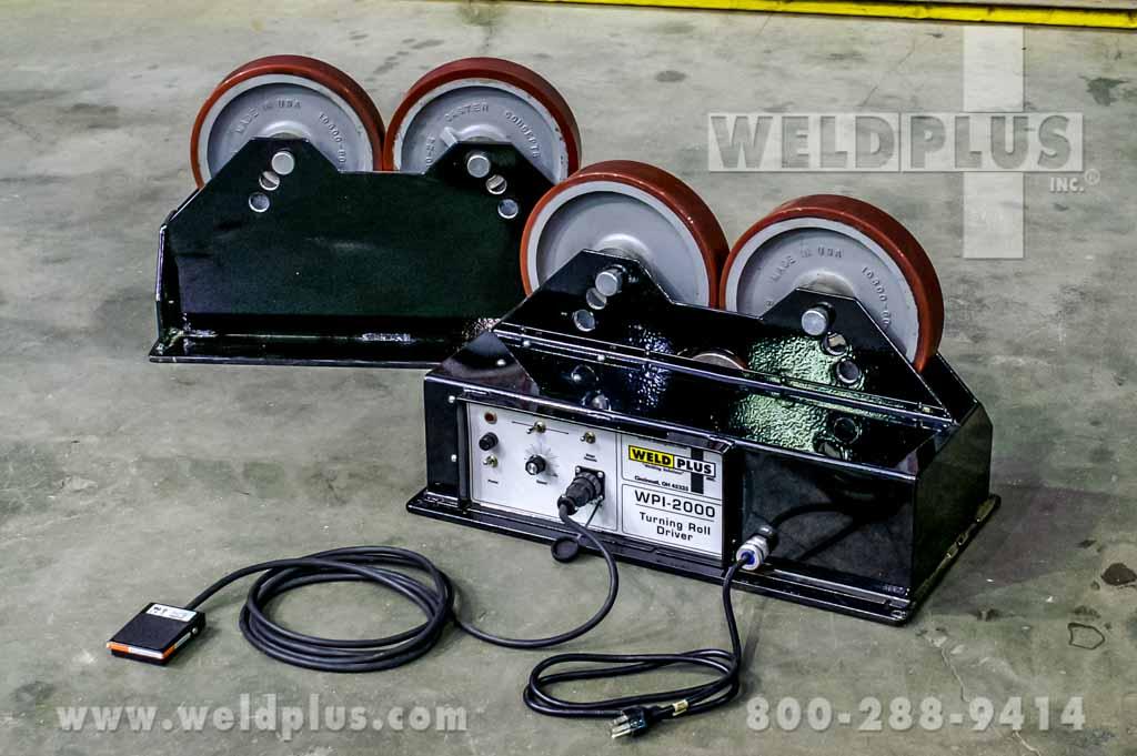 2000 Lb Turning Rolls By Webb Weld Plus