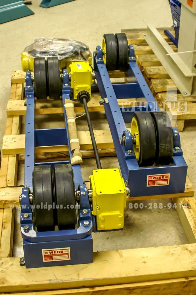 6,000 lb. Webb T9 Turning Rolls