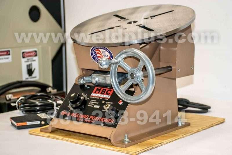 MBC BP2SB 100 lb Welding Positioner